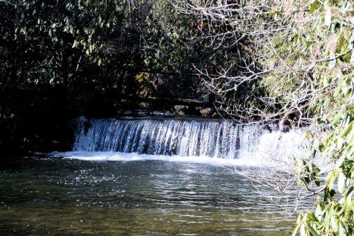 11 2013-01-21-Falls on Long Branch, Hendersonville Reservoir Dam, and Falls on Fletcher Creek=Nikon D3100121