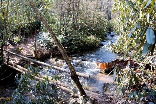 13 2013-01-21-Falls on Long Branch, Hendersonville Reservoir Dam, and Falls on Fletcher Creek=Nikon D3100133