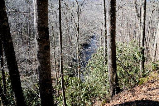 5 2013-01-21-Falls on Long Branch, Hendersonville Reservoir Dam, and Falls on Fletcher Creek=Nikon D310024