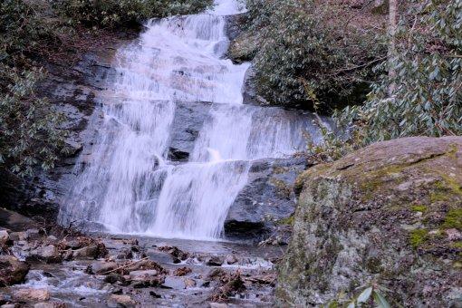 7 Roaring Fork and Setrock Creek Falls, Mount Mitchell-Nikon D3100134