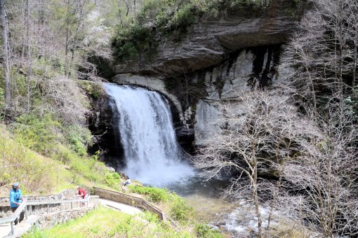 3 2013-04-13-Looking Glass Falls-Moore Cove Falls-Sliding Rock-Nikon D310009
