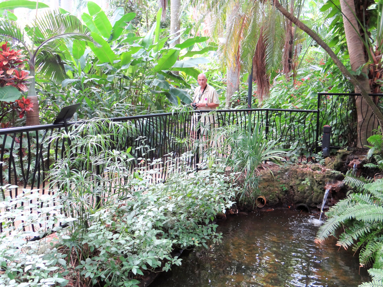 St Petersburg Fl Sunken Gardens Ranger Annette